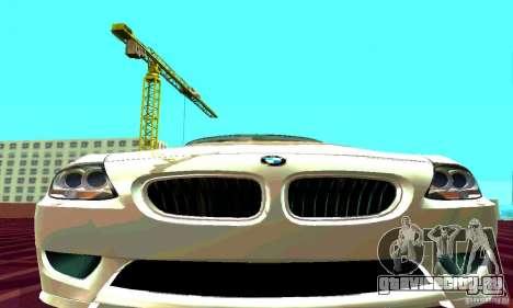 BMW Z4 E85 M для GTA San Andreas вид справа