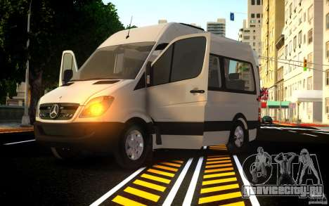 Mercedes-Benz Sprinter Passenger для GTA 4