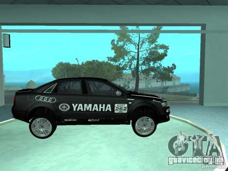 Audi RS4 для GTA San Andreas салон