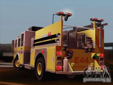 Seagrave Marauder II BCFD Engine 44 для GTA San Andreas вид сверху