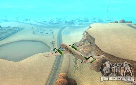 Beechcraft B1900D для GTA San Andreas вид слева