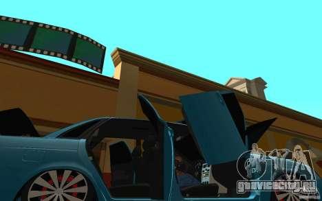 ВАЗ 2170 Пенза тюнинг для GTA San Andreas вид сверху
