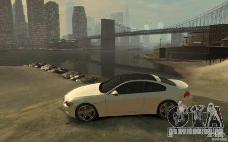 BMW M6 2010 v1.4 для GTA 4 вид слева