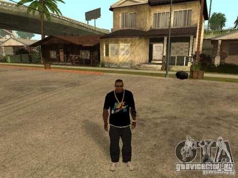 Майка Nike для GTA San Andreas второй скриншот