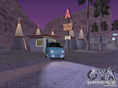 ВАЗ 2114 Casino для GTA San Andreas вид сзади
