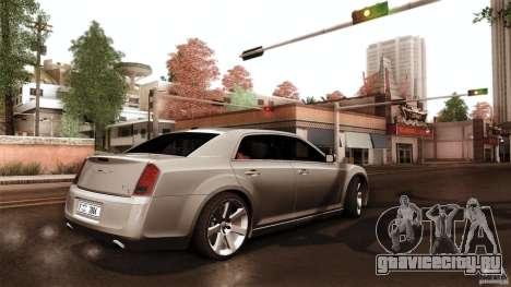 Chrysler 300C V8 Hemi Sedan 2011 для GTA San Andreas вид изнутри