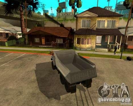 Урал 55571 Самосвал для GTA San Andreas вид справа