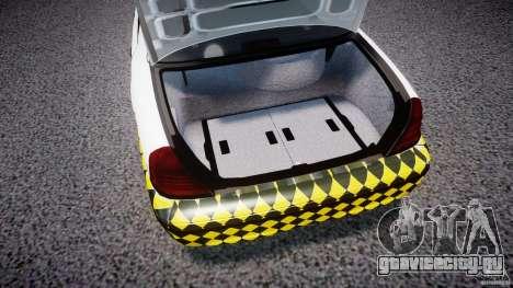Ford Crown Victoria Karachi Traffic Police для GTA 4 вид сзади