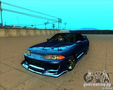 Nissan Skyline GT-R R32 1993 Tunable для GTA San Andreas вид снизу
