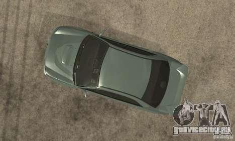 Subaru Impreza 2002 Tunable - Stock для GTA San Andreas вид изнутри