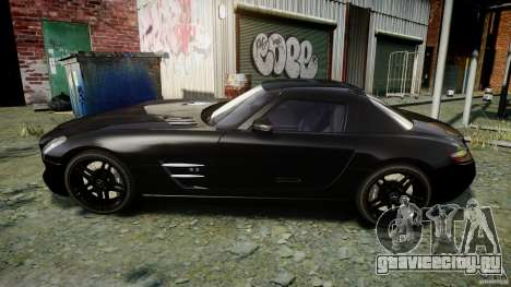 Mercedes-Benz SLS AMG 2010 [EPM] для GTA 4 вид сзади слева