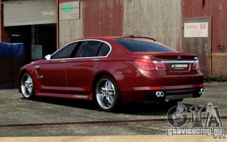 Меню и экраны загрузки BMW HAMANN в GTA 4 для GTA San Andreas шестой скриншот