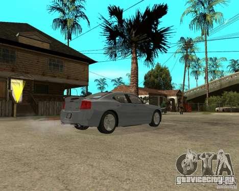 Dodge Charger SRT8 для GTA San Andreas вид справа