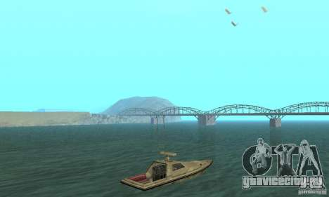 GTA III Ghost для GTA San Andreas вид слева