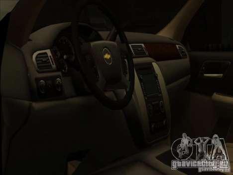Chevrolet Silverado 3500 для GTA San Andreas вид изнутри