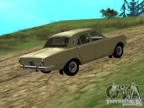 ГАЗ 24-01 для GTA San Andreas вид сзади слева