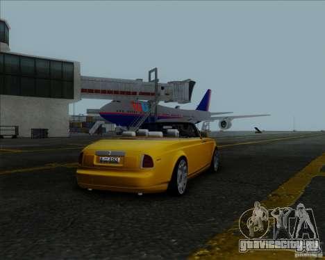 Rolls Royce Phantom Series II Drophead Coupe 12 для GTA San Andreas
