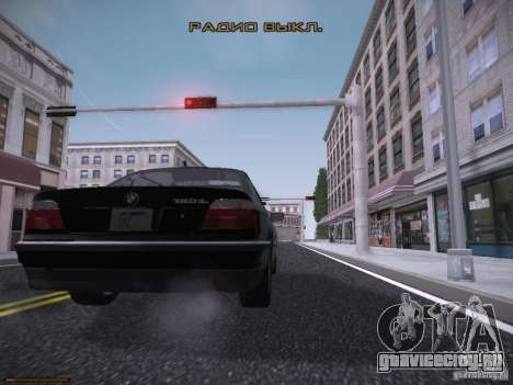LiberrtySun Graphics ENB v3.0 для GTA San Andreas девятый скриншот