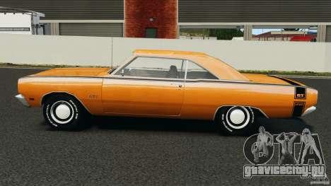 Dodge Dart GTS 1969 для GTA 4 вид слева
