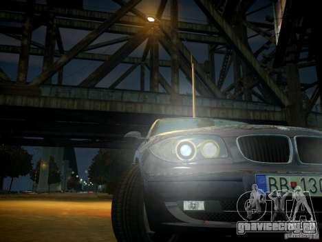BMW 120i для GTA 4 вид сверху