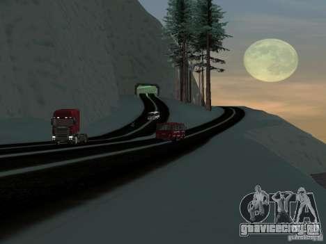 Зима для GTA San Andreas шестой скриншот