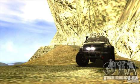 Dodge Ram All Terrain Carryer для GTA San Andreas вид сбоку