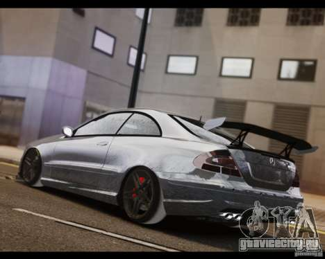 Mercedes-Benz CLK 63 AMG Black Series для GTA 4 вид слева
