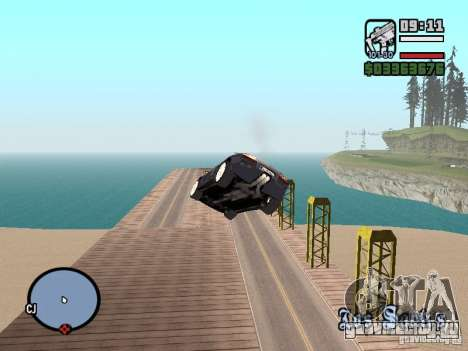 Проезд над океаном (Beta версия) для GTA San Andreas третий скриншот