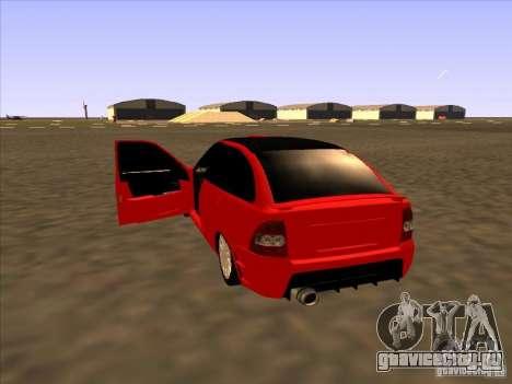 ВАЗ 2172 Sport для GTA San Andreas вид сзади слева