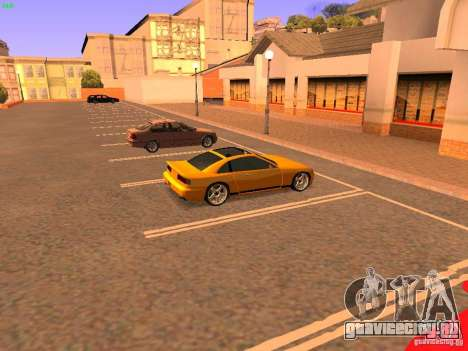 New Euros для GTA San Andreas вид сзади