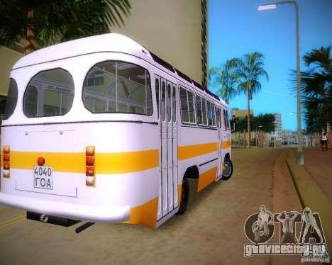 ПАЗ-672 для GTA Vice City вид сзади слева