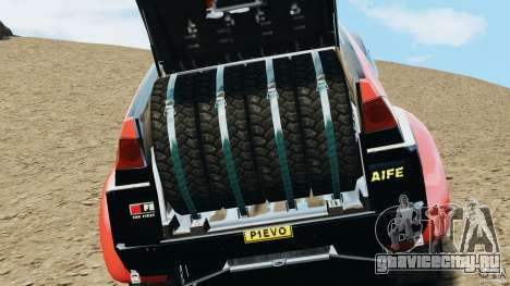 Mitsubishi Pajero Evolution MPR11 для GTA 4 вид сзади
