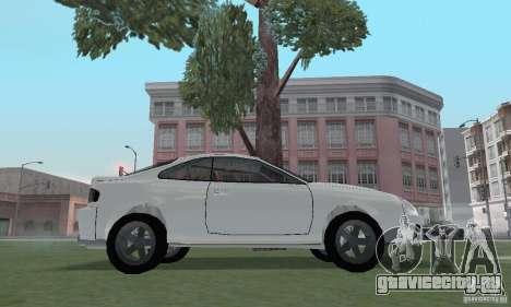 Toyota Celica GT4 2000 для GTA San Andreas вид справа