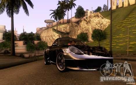 Ruf RK Coupe V1.0 2006 для GTA San Andreas салон