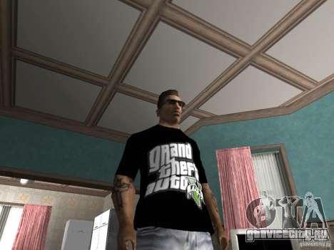 Футболка GTA 5 для GTA San Andreas второй скриншот