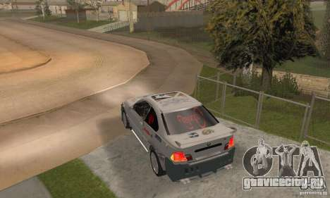 BMW M3 Hamman Street Race для GTA San Andreas вид слева