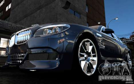 Меню и экраны загрузки BMW HAMANN в GTA 4 для GTA San Andreas двенадцатый скриншот