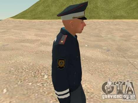 Майор ДПС для GTA San Andreas шестой скриншот