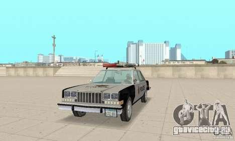 Dodge Diplomat 1985 Police для GTA San Andreas