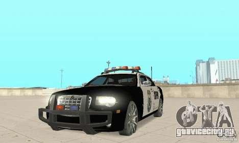 Chrysler 300C Police v2.0 для GTA San Andreas