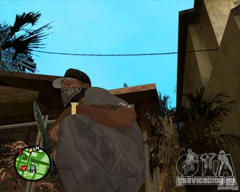 Нож из Counter-Strike для GTA San Andreas второй скриншот
