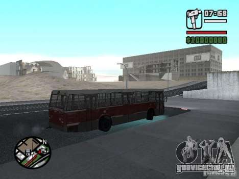 DAF CSA 1 City Bus для GTA San Andreas вид сзади