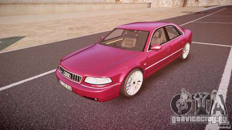 Audi A8 6.0 W12 Quattro (D2) 2002 для GTA 4