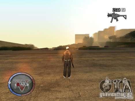 GTA 5 HUD для GTA San Andreas второй скриншот