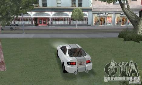 Toyota Celica GT4 2000 для GTA San Andreas вид слева