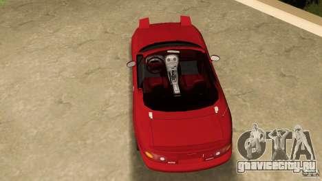 Mazda MX-5 для GTA Vice City вид справа
