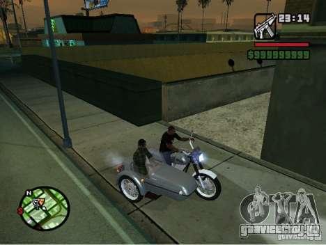 ИЖ Планета -5 для GTA San Andreas вид сзади