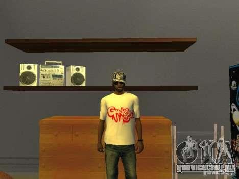 Футболка Gangsta для GTA San Andreas