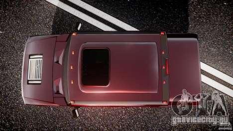 Hummer H2 4x4 OffRoad v.2.0 для GTA 4 вид справа