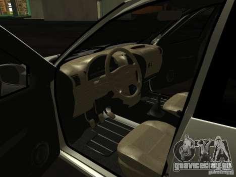 Lada 2190 Granta для GTA San Andreas вид сзади